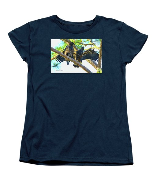 Women's T-Shirt (Standard Cut) featuring the photograph What Shall I Say by Deborah Benoit