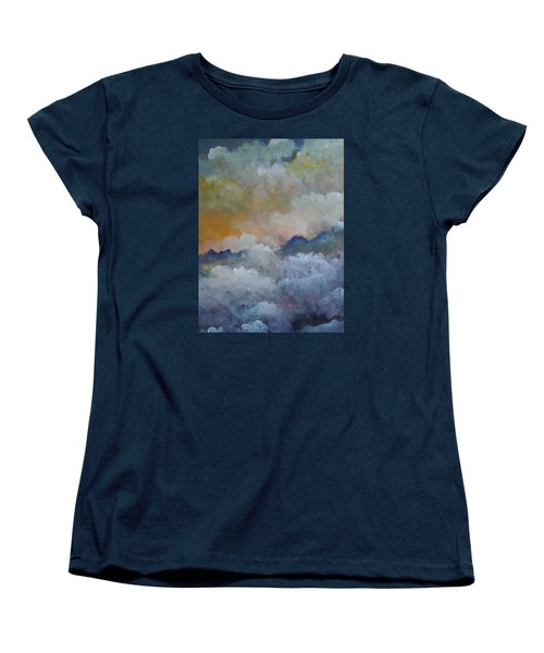 When I Consider Your Heavens Psalm 8 Women's T-Shirt (Standard Cut) by Dan Whittemore