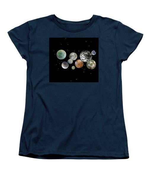 Women's T-Shirt (Standard Cut) featuring the photograph When Worlds Collide by Tony Murray