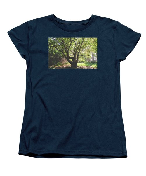 Women's T-Shirt (Standard Cut) featuring the photograph When You Need Shelter by Laurie Search