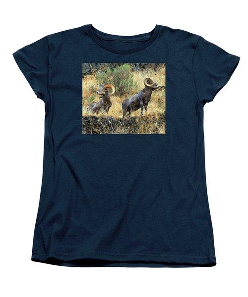 Where Did They Go? Women's T-Shirt (Standard Cut) by Steve Warnstaff