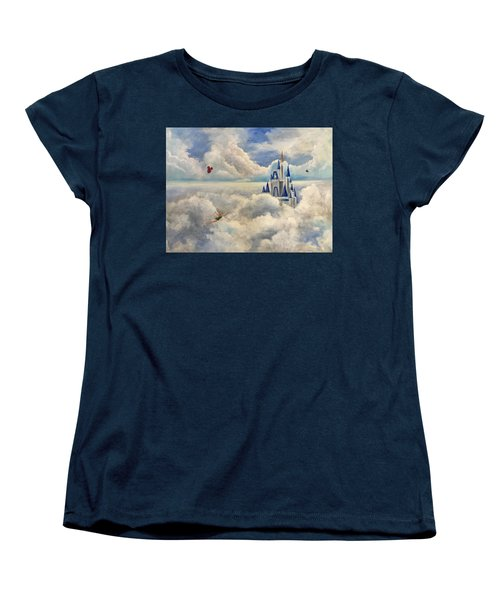Where Dreams Come True Women's T-Shirt (Standard Cut) by Randy Burns