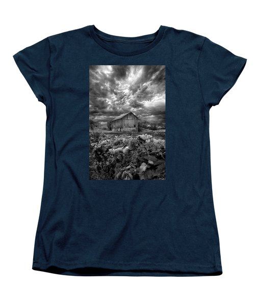 Where Ghosts Of Old Dwell And Hold Women's T-Shirt (Standard Cut) by Phil Koch