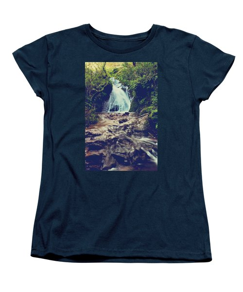 Women's T-Shirt (Standard Cut) featuring the photograph Where It All Begins by Laurie Search
