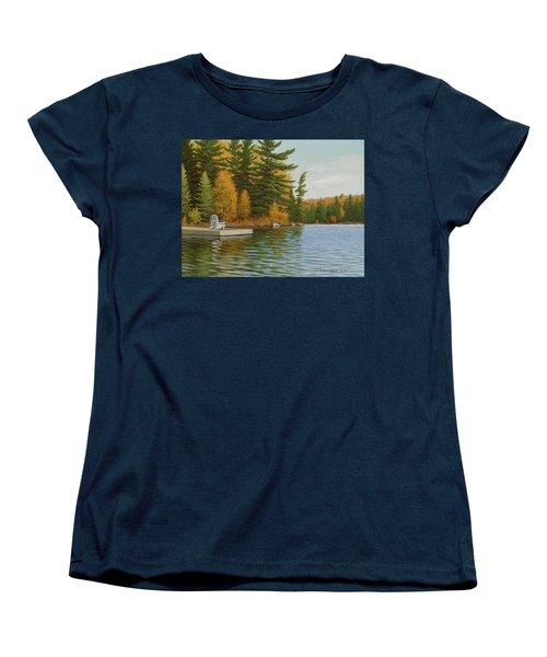 Where Life Is Easy Women's T-Shirt (Standard Cut)
