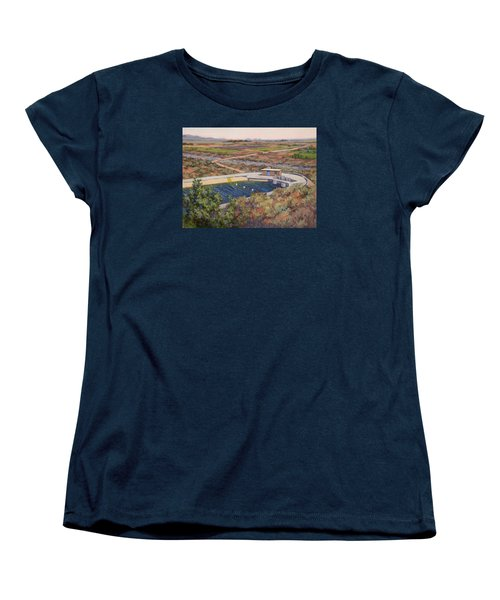 Where The Aqueduct Goes Underground Women's T-Shirt (Standard Cut) by Jane Thorpe