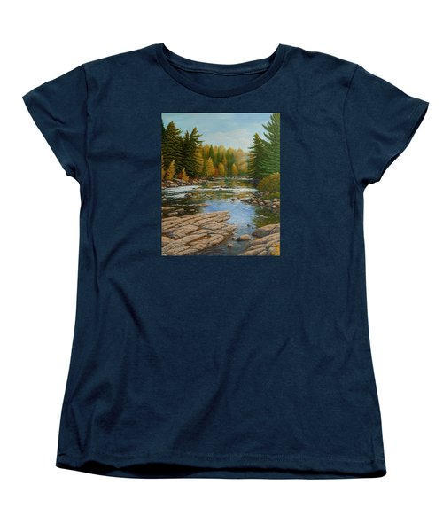 Where The River Flows Women's T-Shirt (Standard Cut)