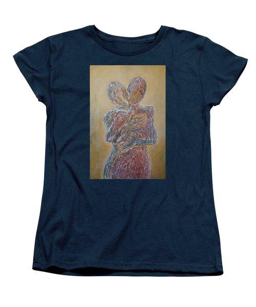 Where You Start And I Begin Women's T-Shirt (Standard Cut) by Theresa Marie Johnson