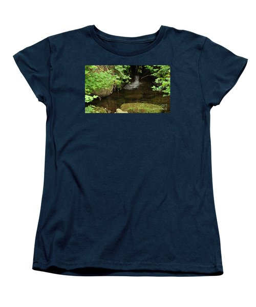 Women's T-Shirt (Standard Cut) featuring the painting Where's The Fish? by Rod Jellison
