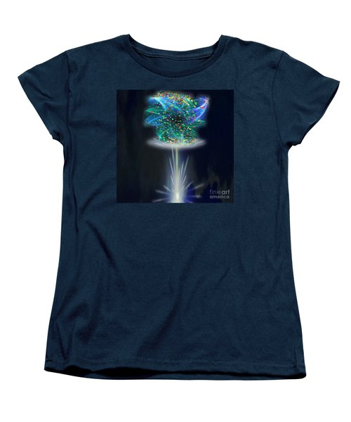 Whimsical Women's T-Shirt (Standard Cut) by Belinda Threeths
