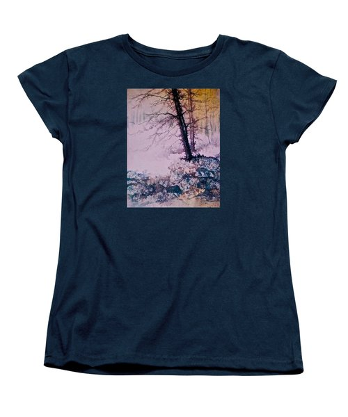 Whispers In The Fog  Partii Women's T-Shirt (Standard Cut) by Carolyn Rosenberger