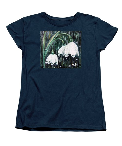 White Bells Women's T-Shirt (Standard Cut) by Vesna Martinjak