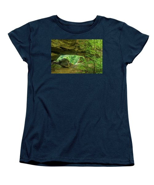 White Branch Arch Women's T-Shirt (Standard Cut) by Ulrich Burkhalter