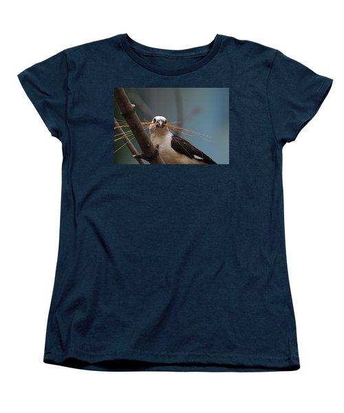 White-headed Buffalo Weaver Women's T-Shirt (Standard Cut) by Michiale Schneider