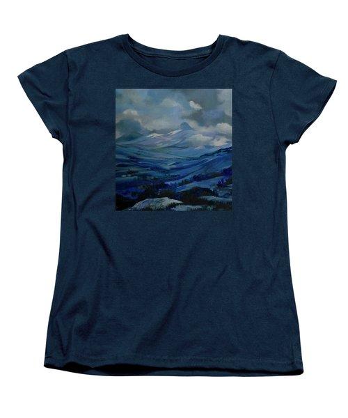 White Pass Women's T-Shirt (Standard Cut) by Anna  Duyunova