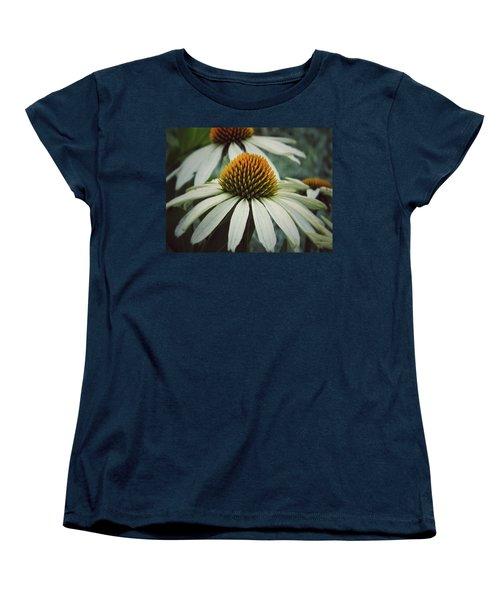 Women's T-Shirt (Standard Cut) featuring the photograph White Swan by Karen Stahlros