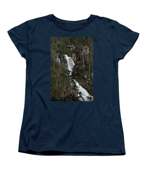 Women's T-Shirt (Standard Cut) featuring the photograph Whitewater Falls by Cathy Harper
