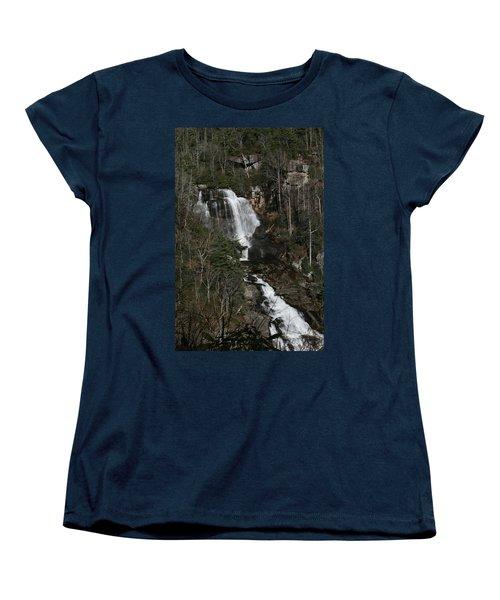 Whitewater Falls Women's T-Shirt (Standard Cut) by Cathy Harper