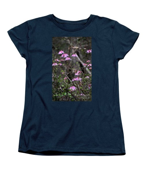 Women's T-Shirt (Standard Cut) featuring the photograph Who Put The Wild In Wildflowers by Skip Willits