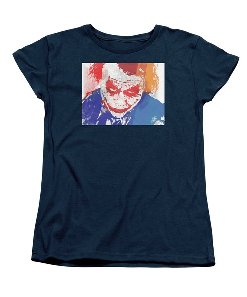 Why So Serious Women's T-Shirt (Standard Cut) by Dan Sproul