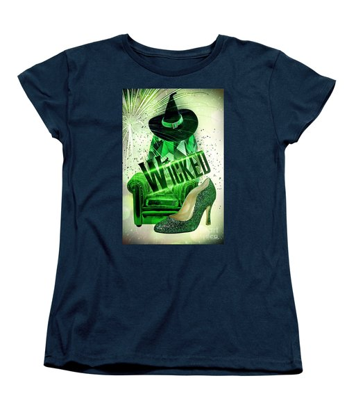 Wicked Women's T-Shirt (Standard Cut) by Mo T
