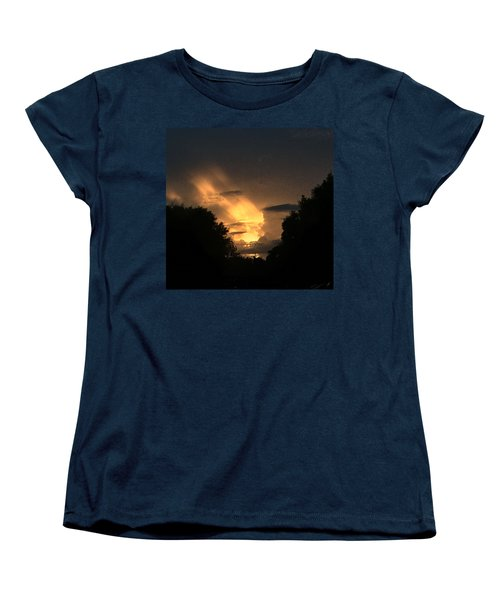 Wicked Sky Women's T-Shirt (Standard Cut) by Audrey Robillard