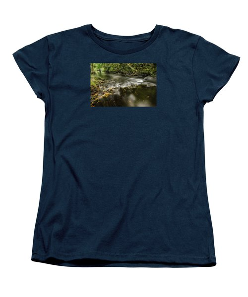 Wicklow Stream Women's T-Shirt (Standard Cut) by Martina Fagan