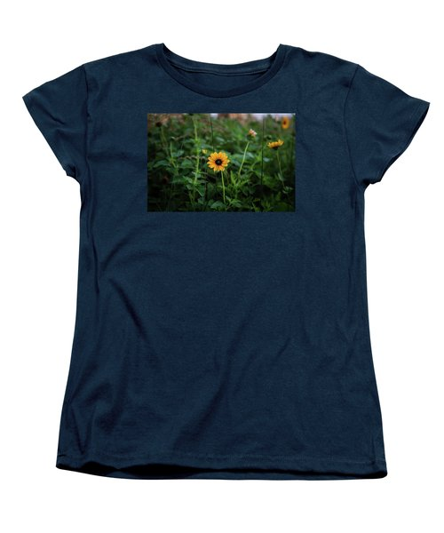 Wild At Hearts And Flowers Women's T-Shirt (Standard Cut)