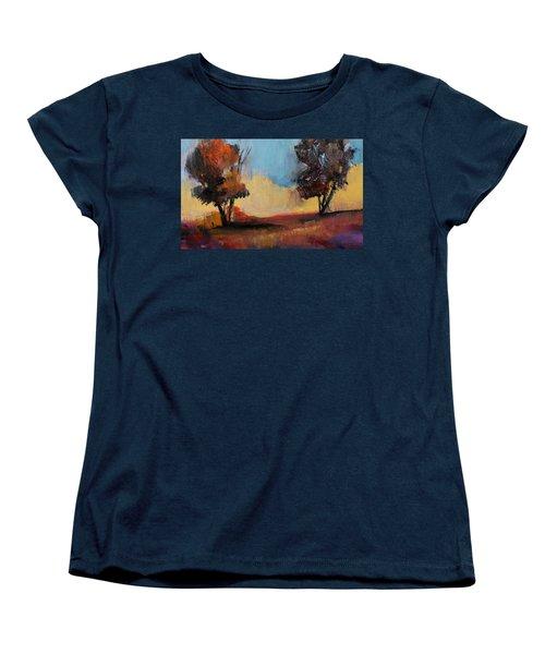 Wild Beautiful Places Trees Landscape Women's T-Shirt (Standard Cut)