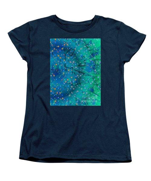 The Wild Blueberry Women's T-Shirt (Standard Cut) by Moustafa Al Hatter