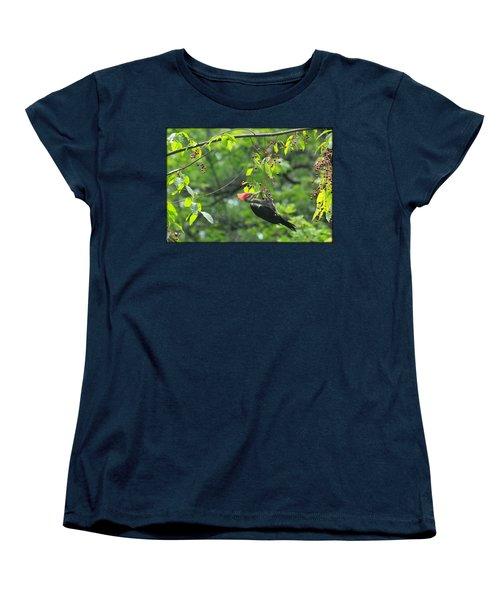 Wild Cherry Snack Women's T-Shirt (Standard Cut) by Tammy Schneider