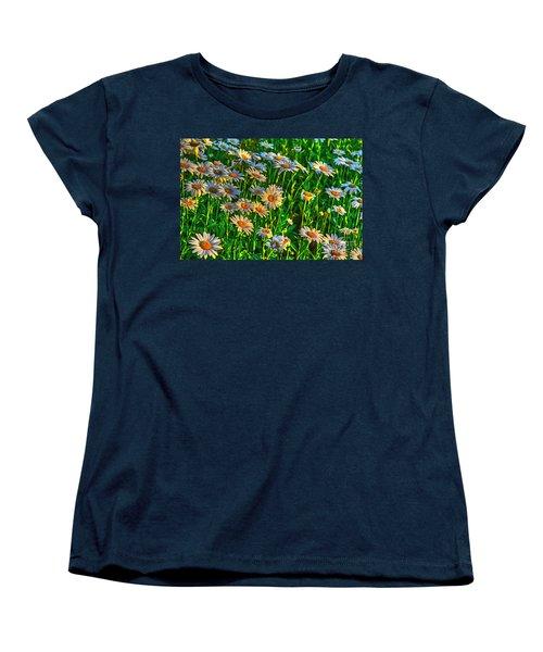 Wild Daisy Women's T-Shirt (Standard Cut) by Robert Pearson
