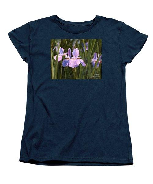 Wild Iris Women's T-Shirt (Standard Cut)