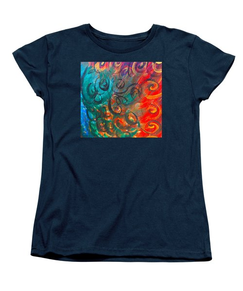 Wild Movement  Women's T-Shirt (Standard Cut)