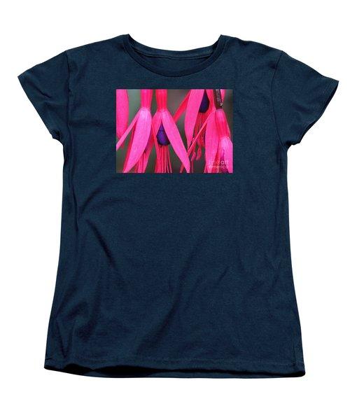 Wild Oregon Fuchsia  Women's T-Shirt (Standard Cut) by Michele Penner
