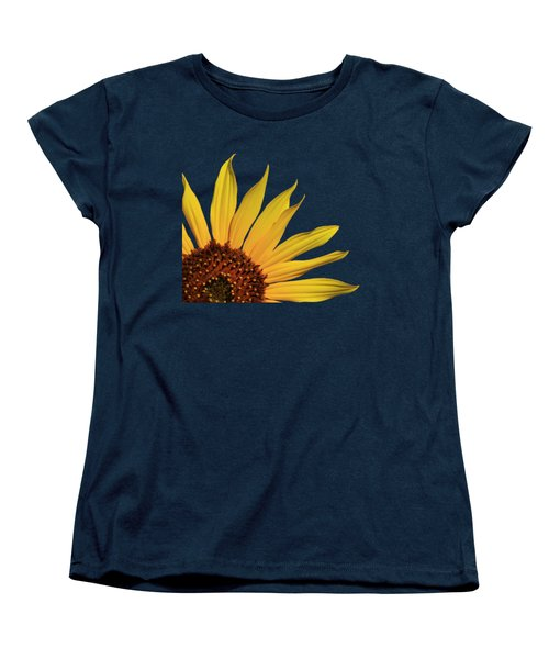 Wild Sunflower Women's T-Shirt (Standard Cut) by Shane Bechler