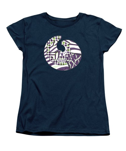Women's T-Shirt (Standard Cut) featuring the digital art Wild Thing by Methune Hively