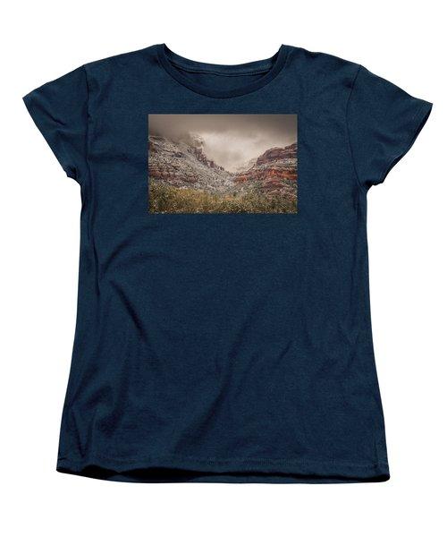 Boynton Canyon Arizona Women's T-Shirt (Standard Cut) by Racheal Christian