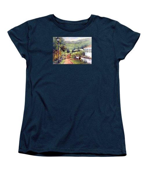 Wildflower Inn Women's T-Shirt (Standard Cut) by Jill Musser