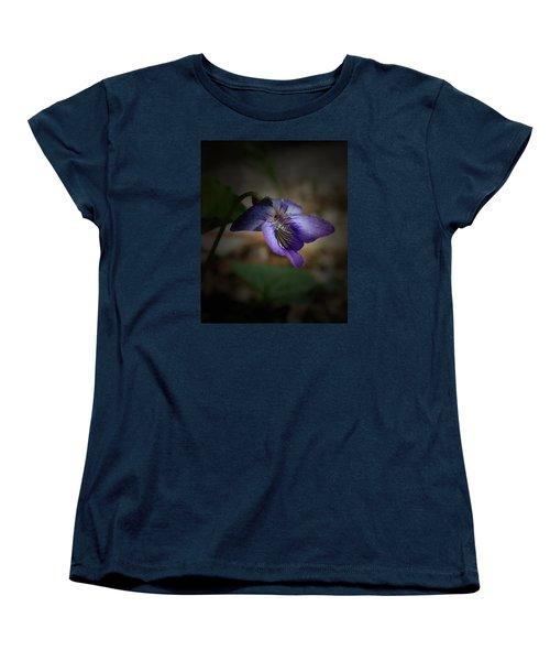 Women's T-Shirt (Standard Cut) featuring the photograph Wildflower by Karen Harrison