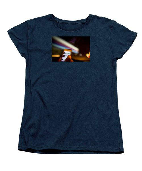Will Be At Home In 5 Minutes Women's T-Shirt (Standard Cut) by Cesare Bargiggia