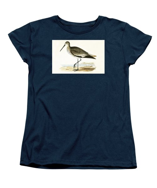 Willet Women's T-Shirt (Standard Cut) by English School