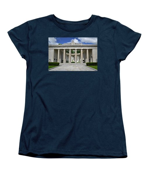 Women's T-Shirt (Standard Cut) featuring the photograph William Mckinley Memorial 003 by George Bostian