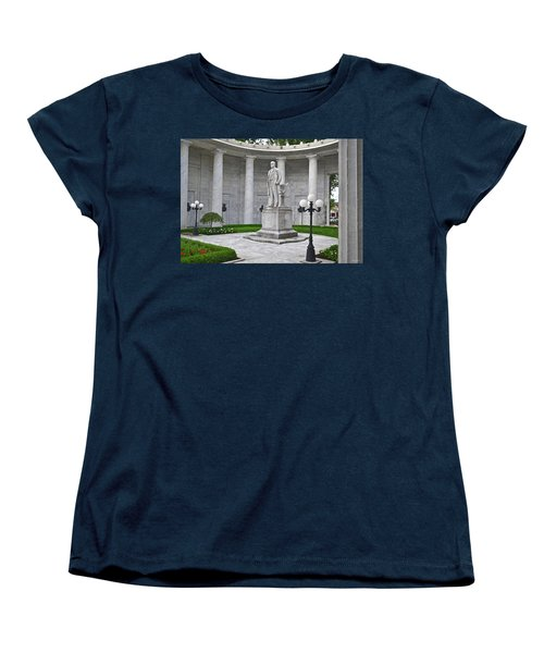 Women's T-Shirt (Standard Cut) featuring the photograph William Mckinley Memorial 004 by George Bostian