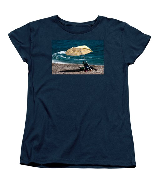 Women's T-Shirt (Standard Cut) featuring the photograph Wind  by Bruno Spagnolo