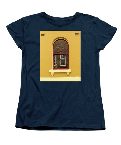 Women's T-Shirt (Standard Cut) featuring the photograph Window And Window 2 by Perry Webster