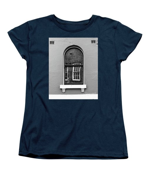 Women's T-Shirt (Standard Cut) featuring the photograph Window And Window by Perry Webster