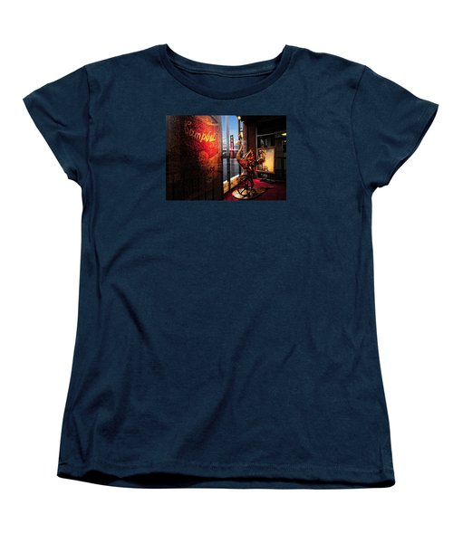 Window Art Women's T-Shirt (Standard Cut) by Steve Siri