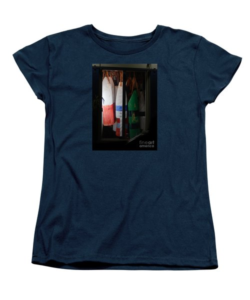 Window Buoys Key West Women's T-Shirt (Standard Cut) by Expressionistart studio Priscilla Batzell
