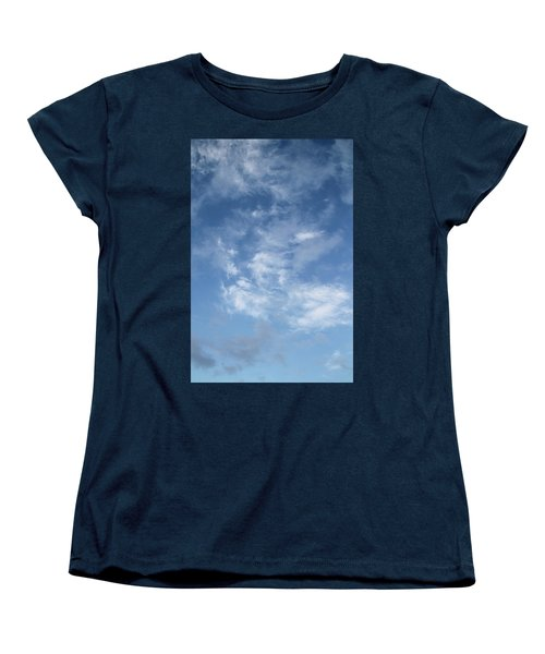 Women's T-Shirt (Standard Cut) featuring the photograph Window On The Sky In Israel During The Winter by Yoel Koskas
